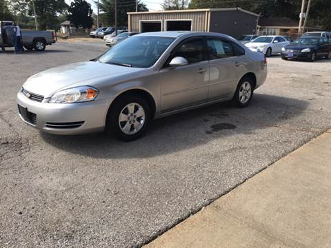 2007 Chevrolet Impala for sale in Tunica, MS