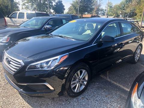 2017 Hyundai Sonata for sale in Tunica, MS