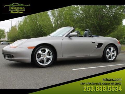 2002 Porsche Boxster for sale in Auburn, WA