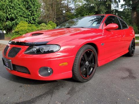 2005 Pontiac GTO for sale in Auburn, WA