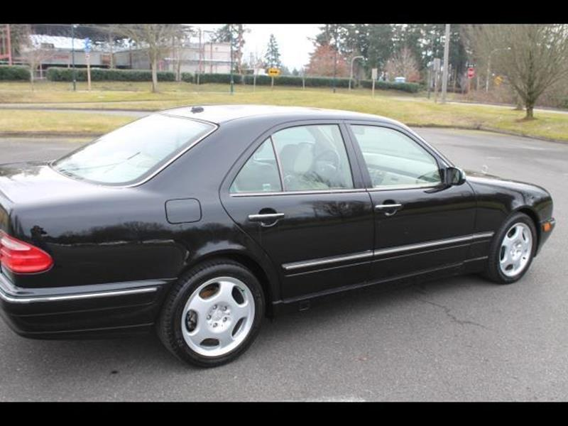 2001 Mercedes-Benz E-Class E 430 4dr Sedan - Federal Way WA