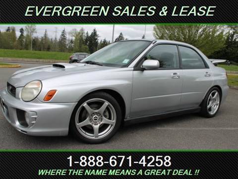 2002 Subaru Impreza for sale in Federal Way, WA