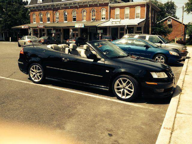 2005 saab 9 3 aero 2dr convertible in hanover pa alpha auto sales llc. Black Bedroom Furniture Sets. Home Design Ideas