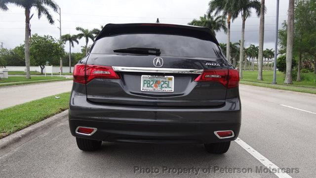 2015 Acura MDX 4dr SUV w/Technology Package - West Palm Beach FL