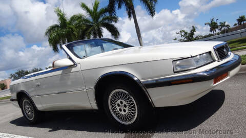 1991 Chrysler TC for sale in West Palm Beach, FL