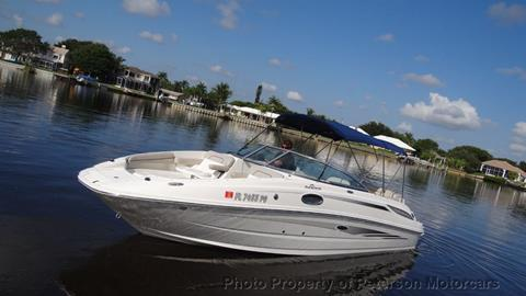 2011 Sea Ray SUNDECK 260 for sale in West Palm Beach, FL