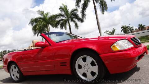 2000 Mercedes-Benz SL-Class for sale at MOTORCARS in West Palm Beach FL