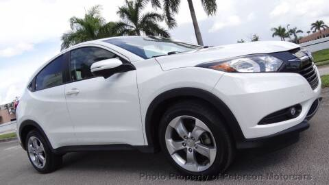 2017 Honda HR-V for sale at MOTORCARS in West Palm Beach FL