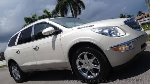 2010 Buick Enclave for sale at MOTORCARS in West Palm Beach FL