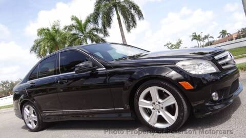 2010 Mercedes-Benz C-Class for sale at MOTORCARS in West Palm Beach FL