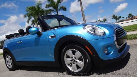 2018 MINI Convertible for sale at MOTORCARS in West Palm Beach FL