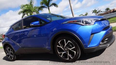 2019 Toyota C-HR for sale at MOTORCARS in West Palm Beach FL