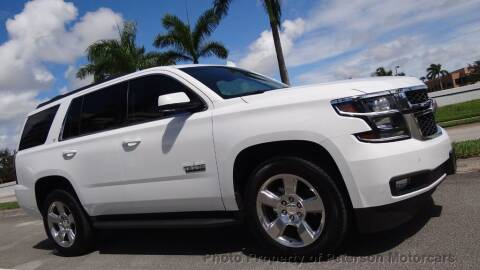 2017 Chevrolet Tahoe for sale at MOTORCARS in West Palm Beach FL