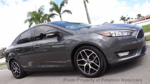 2017 Ford Focus for sale at MOTORCARS in West Palm Beach FL