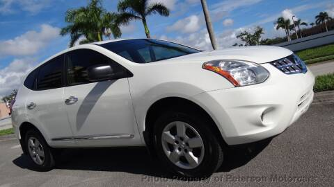 2013 Nissan Rogue for sale at MOTORCARS in West Palm Beach FL