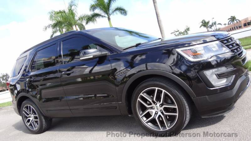 2017 Ford Explorer for sale at MOTORCARS in West Palm Beach FL