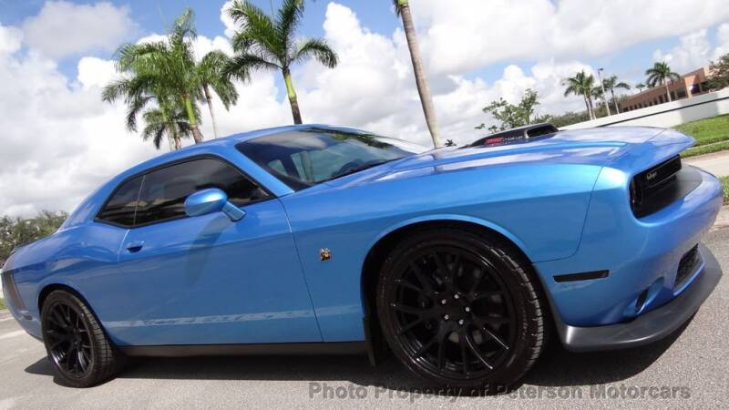 2015 Dodge Challenger for sale at MOTORCARS in West Palm Beach FL