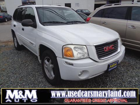 gmc envoy for sale in maryland. Black Bedroom Furniture Sets. Home Design Ideas