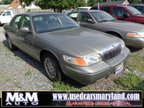 1999 Mercury Grand Marquis for sale in Baltimore, MD