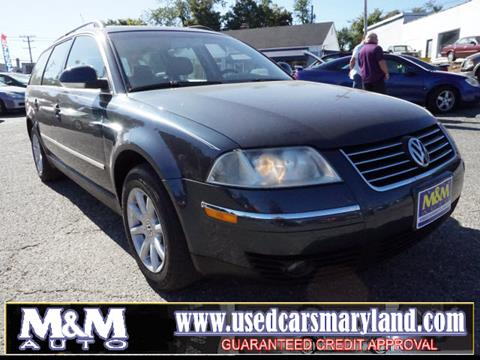 2004 Volkswagen Passat for sale in Baltimore, MD