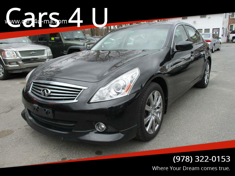 2011 Infiniti G37 Sedan Awd X Sport Appearance Edition 4dr Sedan In