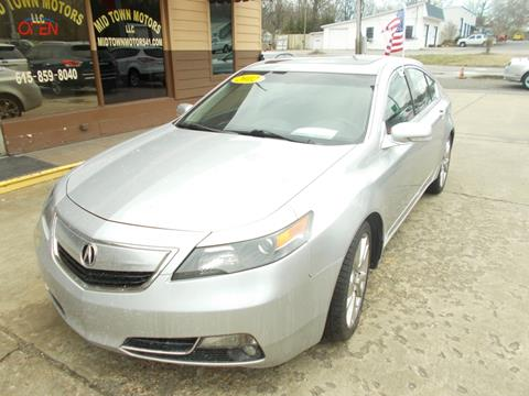 2012 Acura TL for sale in Greenbrier, TN