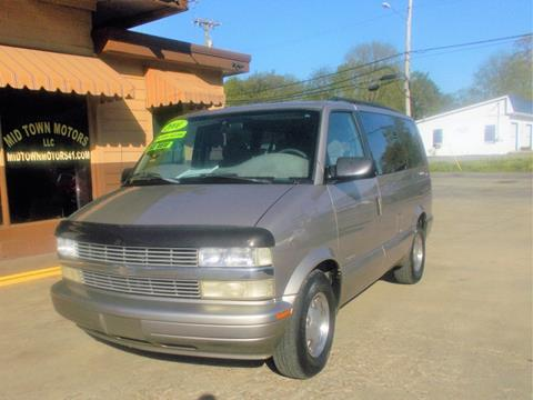 2001 Chevrolet Astro for sale in Greenbrier, TN