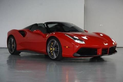 2017 Ferrari 488 Spider for sale at Adams Auto Group Inc. in Charlotte NC