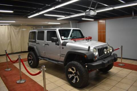 2012 Jeep Wrangler Unlimited for sale at Adams Auto Group Inc. in Charlotte NC