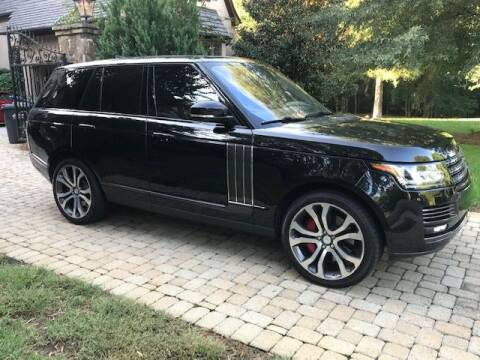 2017 Land Rover Range Rover for sale at Adams Auto Group Inc. in Charlotte NC