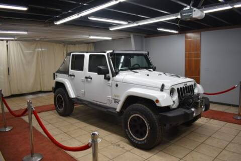 2014 Jeep Wrangler Unlimited for sale at Adams Auto Group Inc. in Charlotte NC
