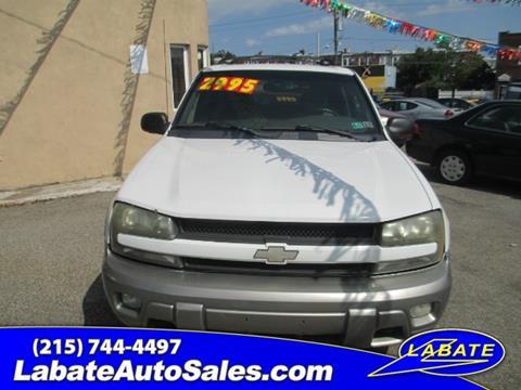 2002 Chevrolet TrailBlazer for sale in Philadelphia PA