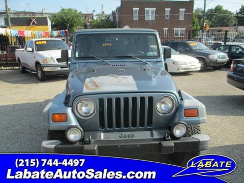 1998 Jeep Wrangler for sale in Philadelphia PA