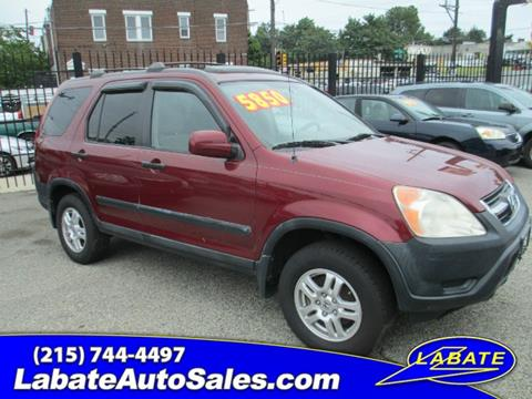 2004 Honda CR-V for sale in Philadelphia PA