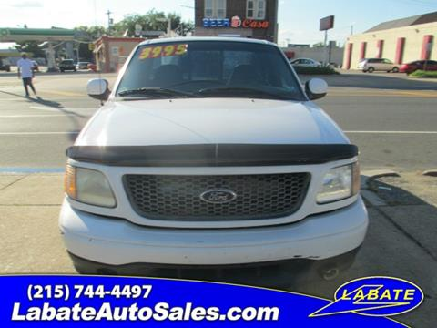 2001 Ford F-150 for sale in Philadelphia, PA