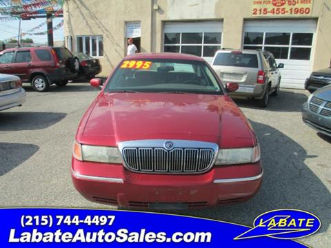 2001 Mercury Grand Marquis for sale in Philadelphia PA
