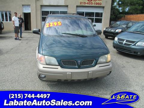1997 Pontiac Trans Sport for sale in Philadelphia PA