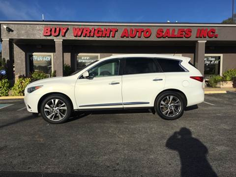 2013 Infiniti JX35 for sale in Rogers, AR