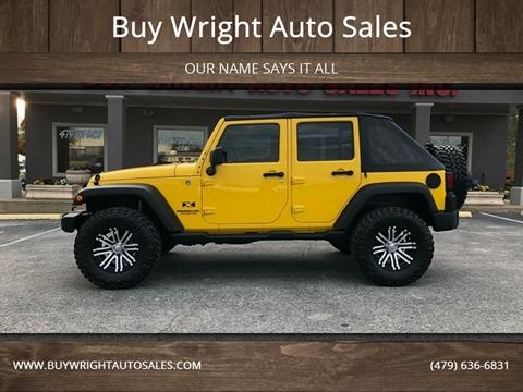 used 2009 jeep wrangler unlimited for sale in arkansas. Black Bedroom Furniture Sets. Home Design Ideas