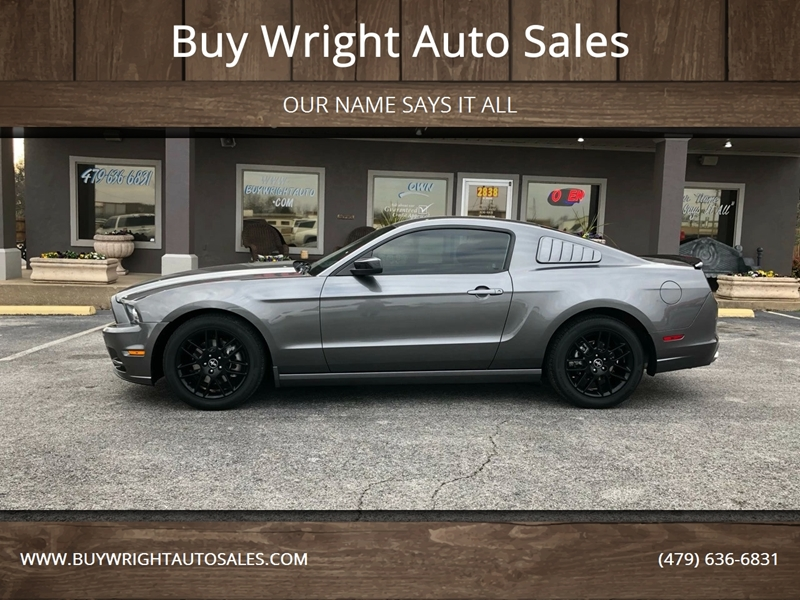 2014 Ford Mustang V6 Premium 2dr Fastback In Rogers Ar Buy Wright