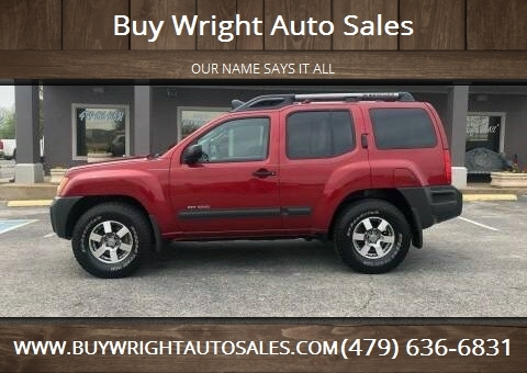 Nissan Xterra For Sale In Rogers Ar Buy Wright Auto Sales