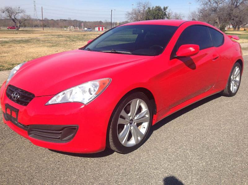 2011 Hyundai Genesis Coupe 2.0 T >> 2011 Hyundai Genesis Coupe 2 0t Premium 2dr Coupe In San