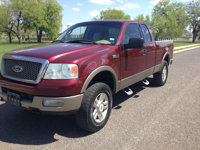 2004 F150 Lariat >> 2004 Ford F 150 Lariat 4dr Supercab 4wd Styleside 6 5 Ft Sb