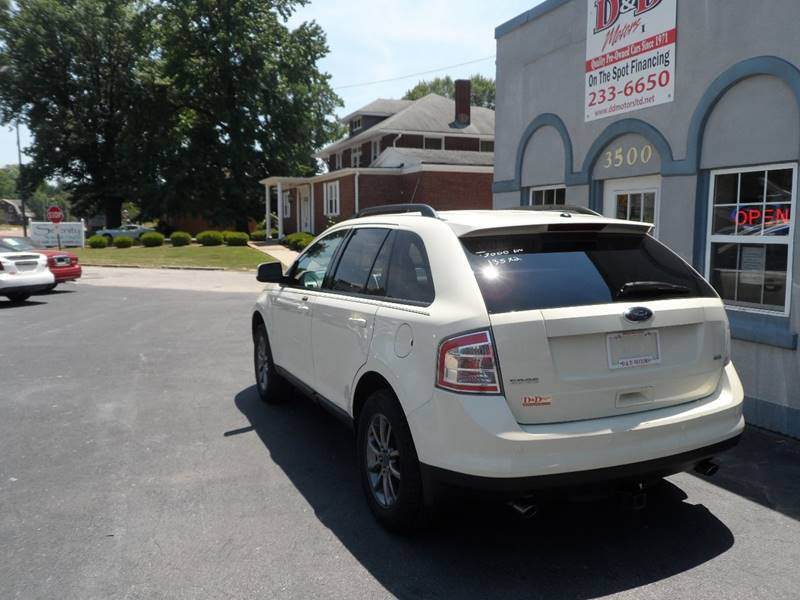 2008 Ford Edge Sel 4dr Crossover In Belleville Il D Motors Ltd. Ford. 2008 Ford Edge Front Suspension Schematic At Scoala.co