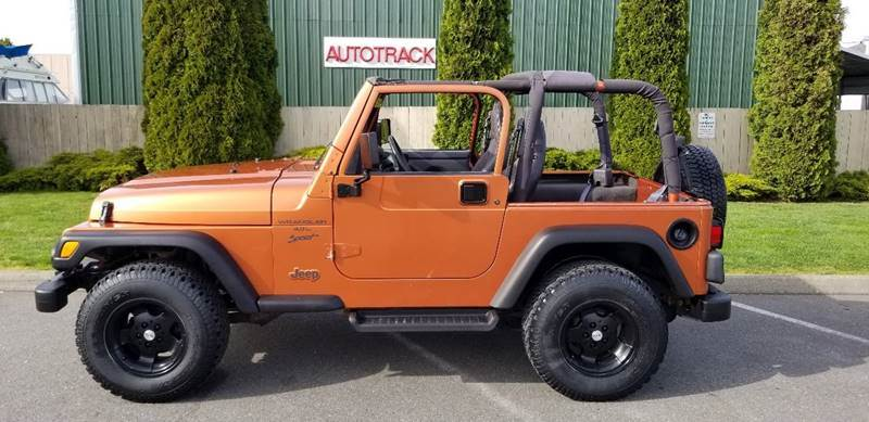 2001 Jeep Wrangler for sale in Mount Vernon, WA