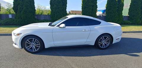 2017 Ford Mustang for sale at Autotrack in Mount Vernon WA