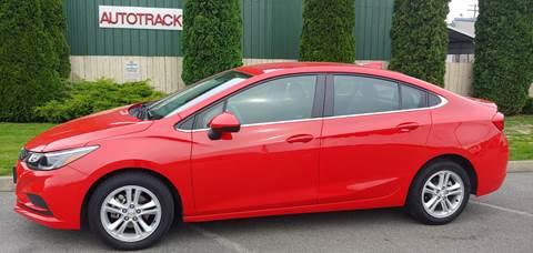 2018 Chevrolet Cruze for sale at Autotrack in Mount Vernon WA