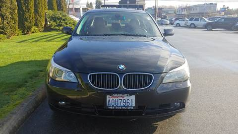 2007 BMW 5 Series for sale at Autotrack in Mount Vernon WA