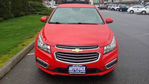 2016 Chevrolet Cruze Limited for sale at Autotrack in Mount Vernon WA