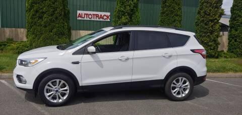2018 Ford Escape for sale at Autotrack in Mount Vernon WA
